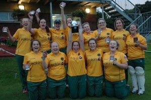 North Down Ladies win the Challenge Cup