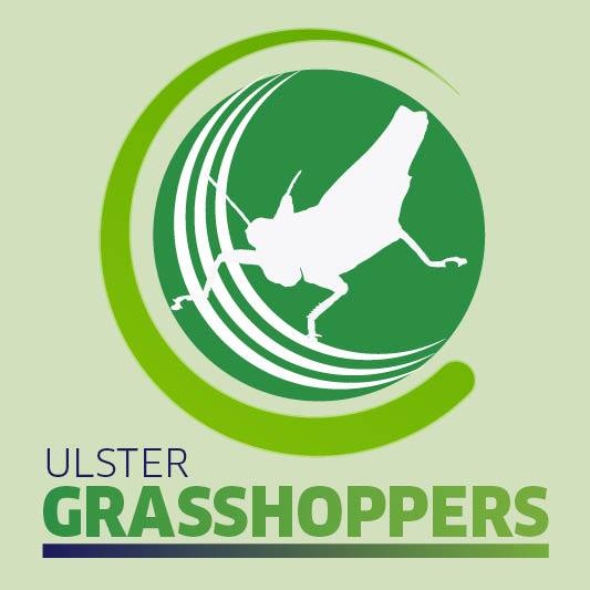Ulster Grasshoppers Badge